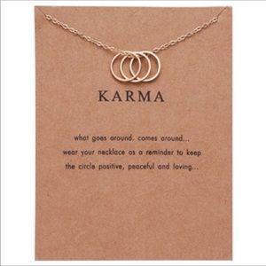 Trendy Karma Necklace